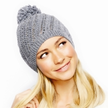 2 CHIC SLOUCH HAT WITH RHINESTONES - $19.95